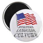 Borders Language Culture Magnet