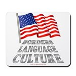 Borders Language Culture Mousepad