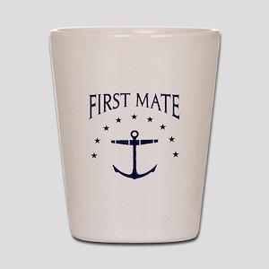 First Mate Shot Glass