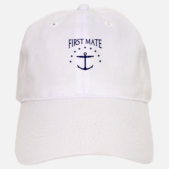 First Mate Baseball Baseball Baseball Cap