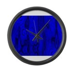 Masked Large Wall Clock