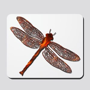 Fire Dragonfly Mousepad