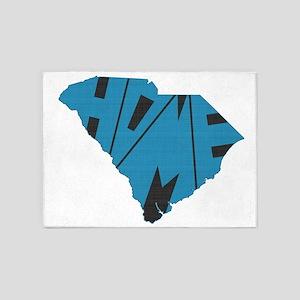South Carolina Home 5'x7'Area Rug