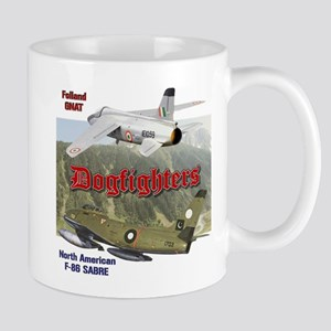 Dogfighters: F-86 vs Gnat Mug