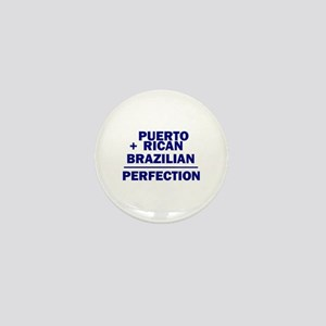Brazilian + Puerto Rican Mini Button