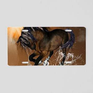 Beautiful horse Aluminum License Plate