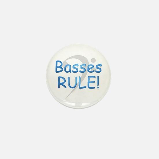 Basses Rule Mini Button