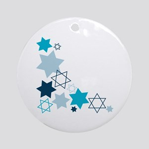 Star Of David Ornament (Round)