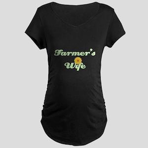 Farmer's Wife Maternity Dark T-Shirt