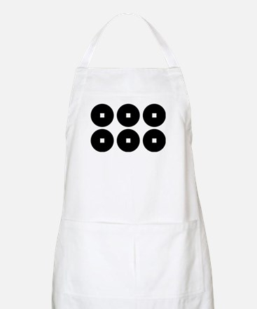 Six coins for the Sanada family Apron