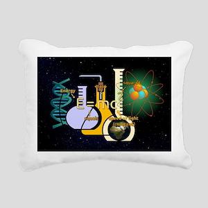Physics Is Fun Rectangular Canvas Pillow