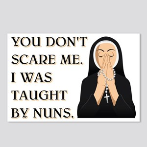 TAUGHT BY NUNS Postcards (Package of 8)