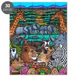 African Colours Safari Puzzle