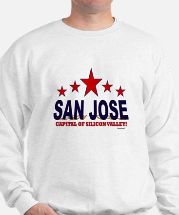 San Jose Capital Of Silicon Valley Sweatshirt
