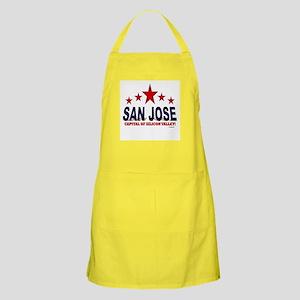 San Jose Capital Of Silicon Valley Apron