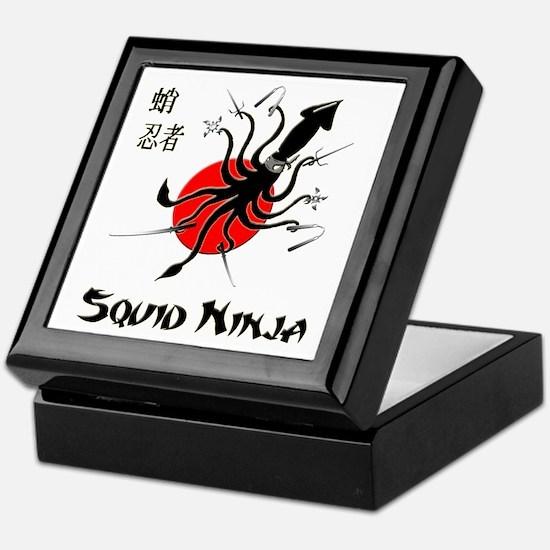 Squid Ninja Keepsake Box