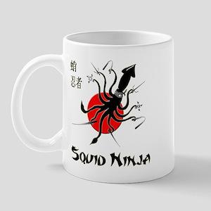 Squid Ninja Mug