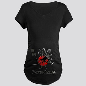 Squid Ninja Maternity Dark T-Shirt