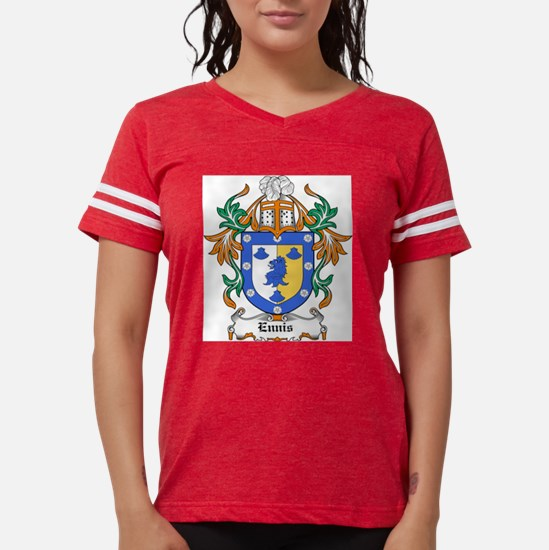 Ennis Coat of Arms Ash Grey T-Shirt