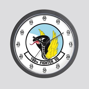 160th Fighter Squadron Wall Clock