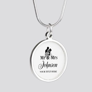 Personalized Mr and Mrs Necklaces