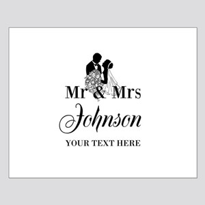 Personalized Mr and Mrs Posters
