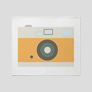 Photograph Camera Throw Blanket
