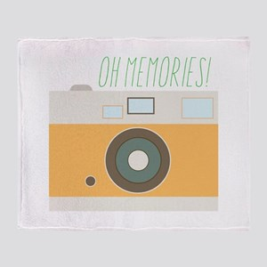 Oh Memories! Throw Blanket