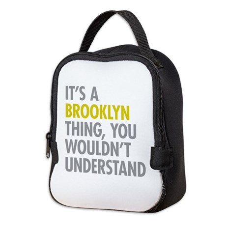 Brooklyn Thing Neoprene Lunch Bag