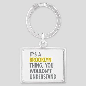 Brooklyn Thing Landscape Keychain