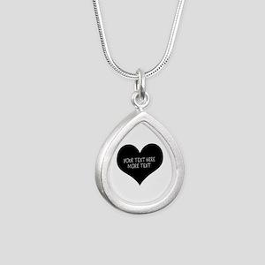 Black heart Necklaces