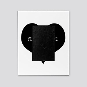 Black heart Picture Frame