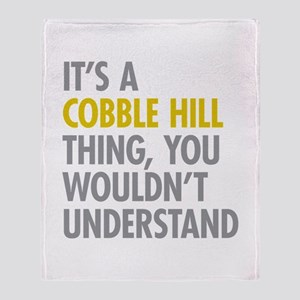 Cobble Hill Thing Throw Blanket