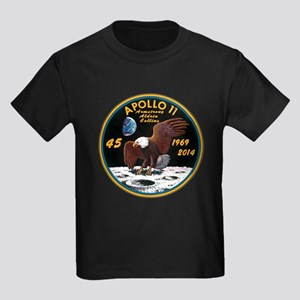 Apollo 11 45th Anniversary Kids Dark T-Shirt