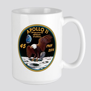 Apollo 11 45th Anniversary Large Mug Mugs