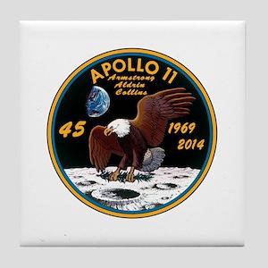 Apollo 11 45th Anniversary Tile Coaster
