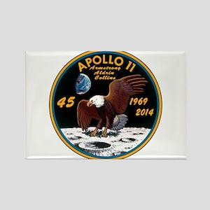 Apollo 11 45th Anniversary Rectangle Magnet