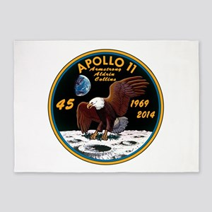 Apollo 11 45th Anniversary 5'x7'Area Rug