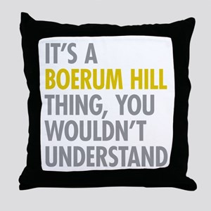 Boerum Hill Thing Throw Pillow