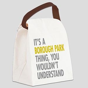 Borough Park Thing Canvas Lunch Bag