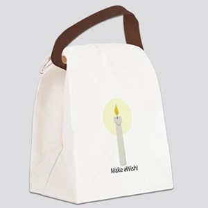 Make A Wish! Canvas Lunch Bag