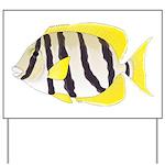 Convict Surgeonfish Yard Sign