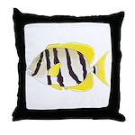 Convict Surgeonfish Throw Pillow