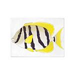 Convict Surgeonfish 5'x7'Area Rug