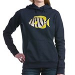 Convict Surgeonfish C Women's Hooded Sweatshirt