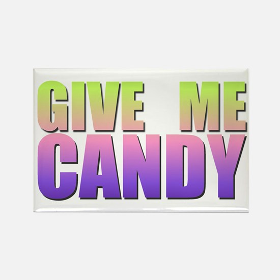 Retro Candy Rectangle Magnet