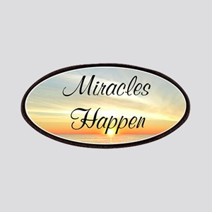 MIRACLES HAPPEN Patches