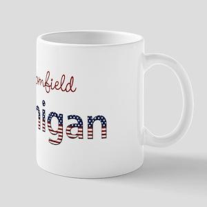 Custom Michigan Mug