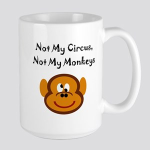 Monkeys Large Mug