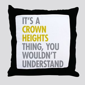 Crown Heights Thing Throw Pillow